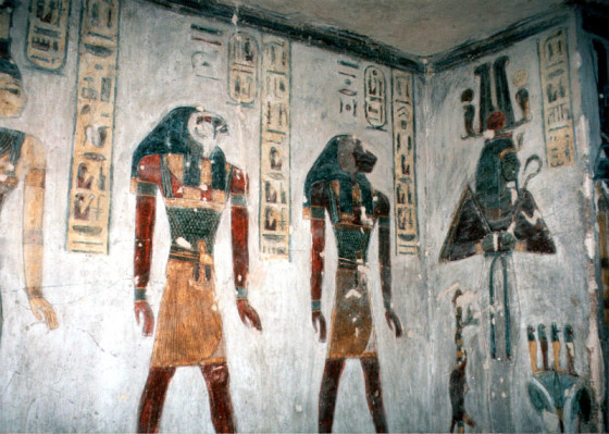 Luxor, Valley of the Kings: Tomb of Ramses III.