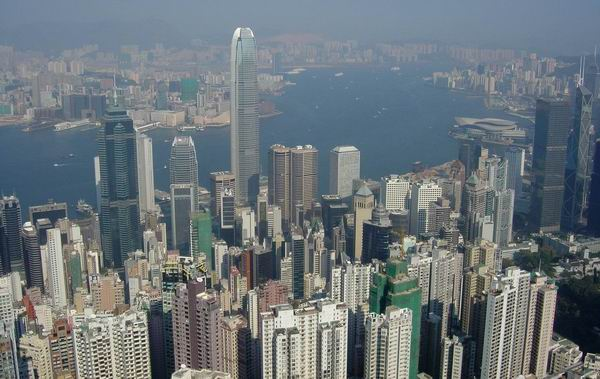 Hong Kong, View from Victoria Peak