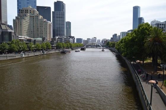 melbourne yarra river australia