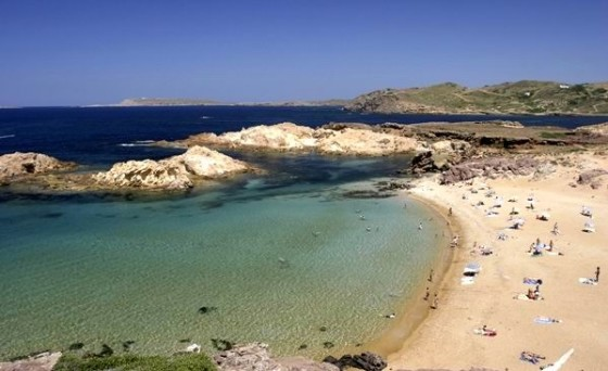 Menorca Pregonda beach