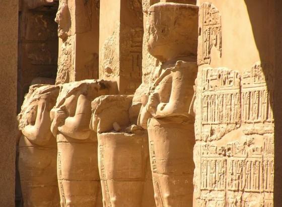 Karnak temple in Egypt Luxor