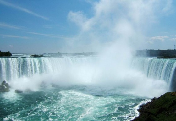 Niagara falls, the Canadian side