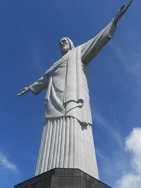statue of Jesus in Rio de Janeiro Brazil