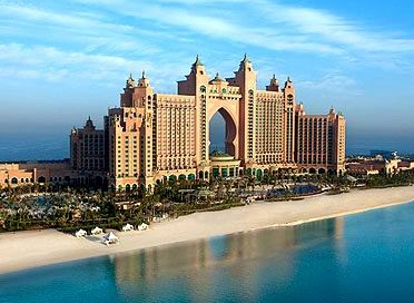 Atlantis hotel in Palm, Dubai