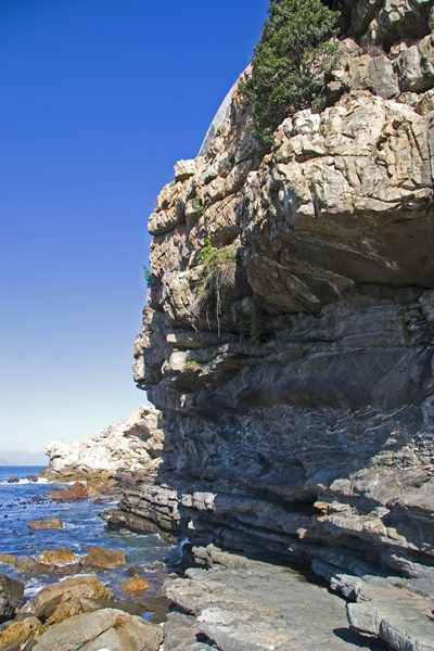 Hermanus rocky coast