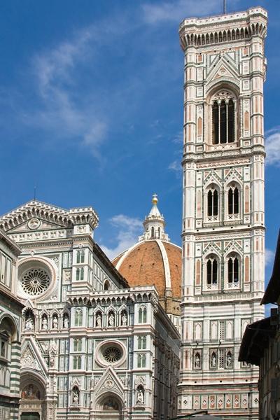 Florence, Basilica di Santa Maria del Fiore and Giottos Campanile