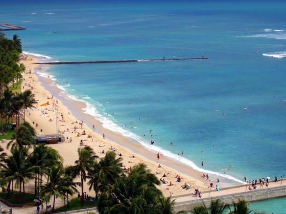 Hawaii Waikiki Beach, Oahu