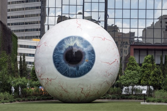 Dallas giant eyeball