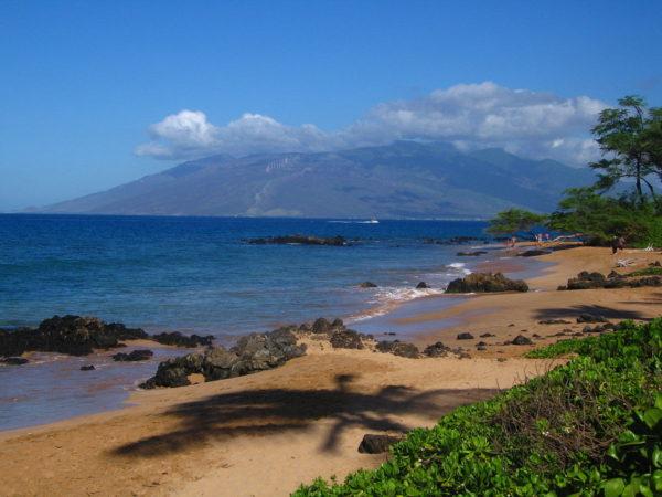 Maui, Mokapu beach