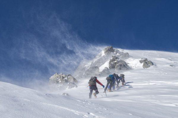 Japan mountain climbing