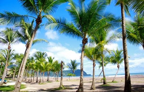 Costa Rica Jaco beach