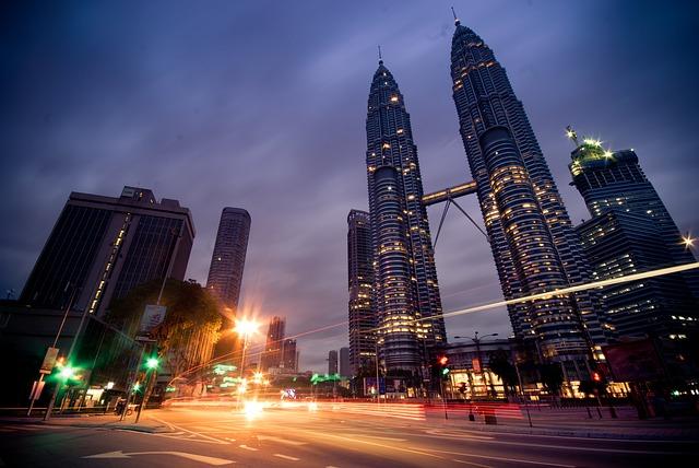 Kuala Lumpur shopping area