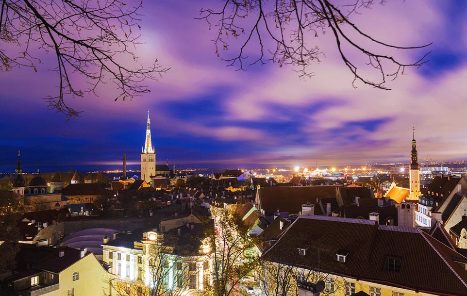 Old town on Tallinn, Estonia